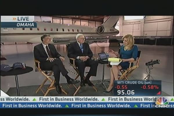 Buffett & Gates Talk Future of Berkshire Hathaway