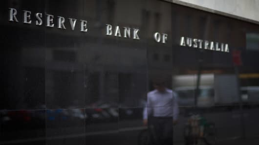 Reserve Bank of Australia (RBA) headquarters in Sydney, Australia