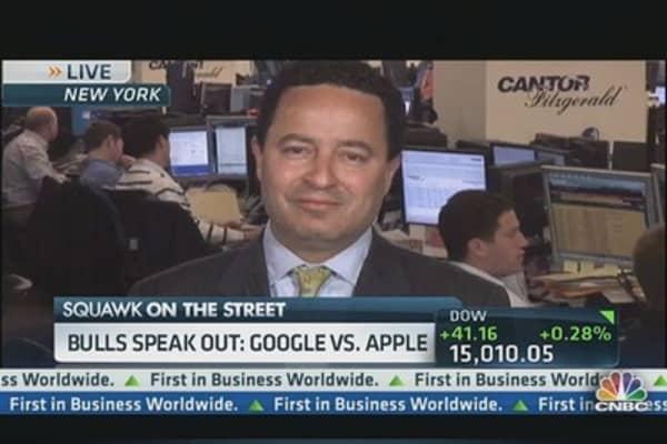 High Tech Showdown: Google vs. Apple