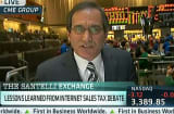 Santelli Finds Problem With Pension Payouts