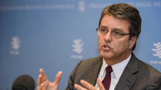 Roberto Azevedo, the WTO's new leader.