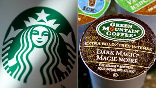 Starbucks Green Mountain Coffee