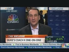 Duke's Coach K on Recruiting
