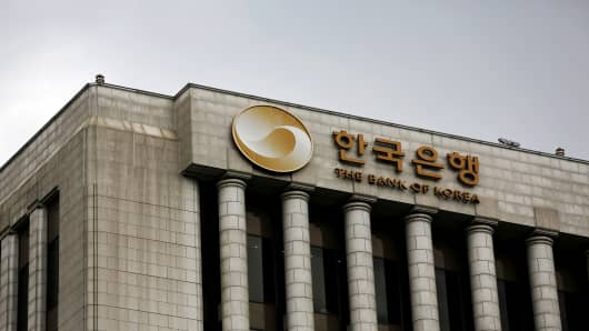 Bank of Korea headquarters in Seoul