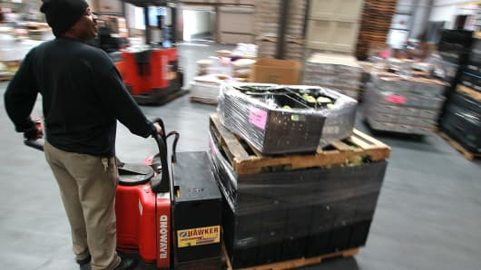 factory orders warehouse manufacturing wholesale