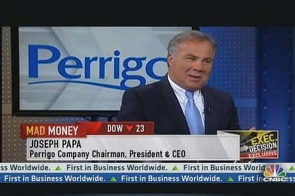 Perrigo CEO: Mucinex Product Will Be a Big Winner