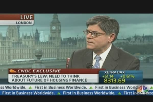Lew: Debt Ceiling Won't Be Reached Till Labor Day