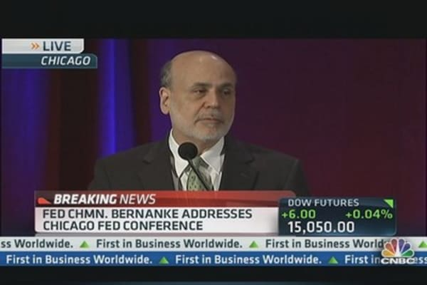 Bernanke Address Chicago Fed Conference