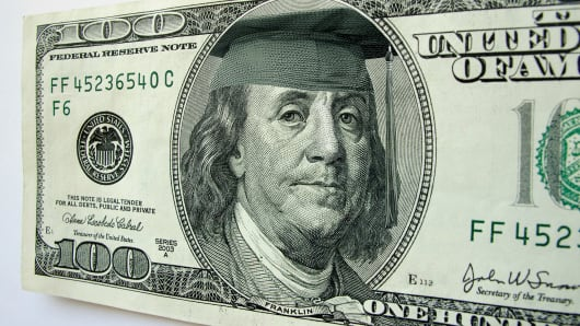 college education cost money