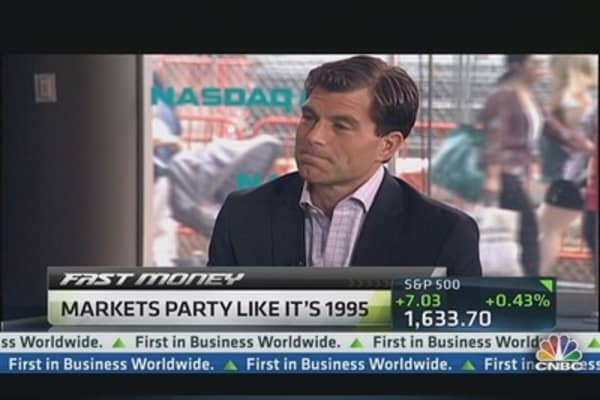 Market Setting Up Like 1995 Rally: Santoli