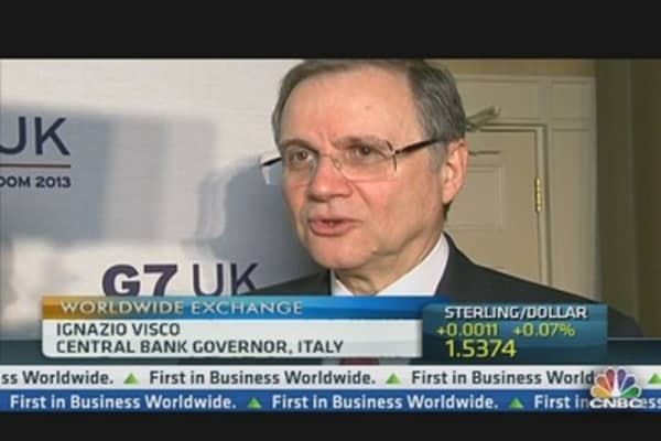 Italian Central Bank Gov: We Are Ready to Intervene