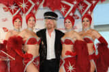 Virgin Group's Sir Richard Branson during the April launch of new nonstop service from LAX to Las Vegas McCarran International.