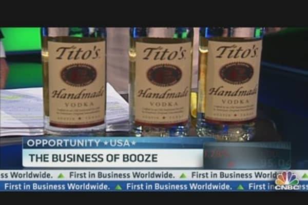 Tito's Handmade is Vodka Heavyweight