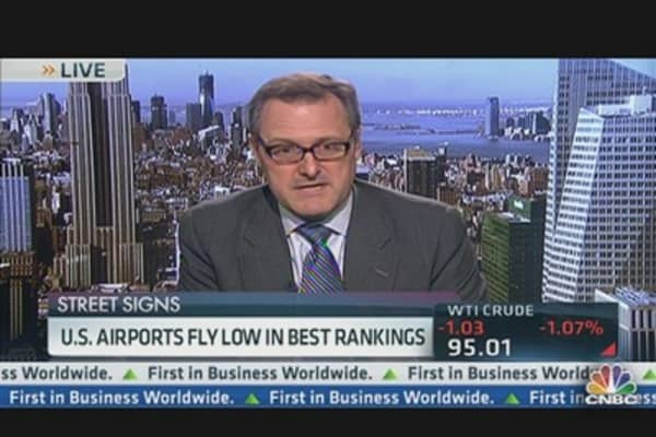 US Airports Fly Low in Best Rankings
