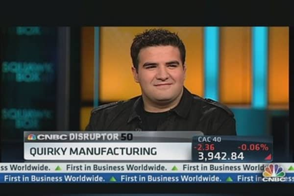 How Quirky Is Disrupting Manufacturing