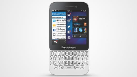 Blackberry launches their new Q5 smartphone.