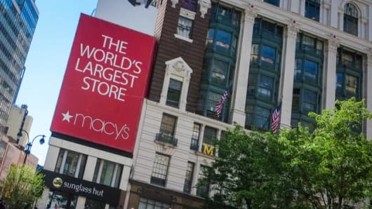 Macy's flagship store in Herald Square, New York City.