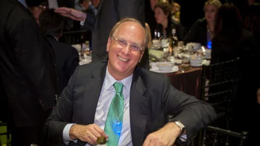 Larry Fink, Blackrock CEO