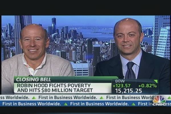 Robin Hood Fights Poverty & Hits $80 Million Target
