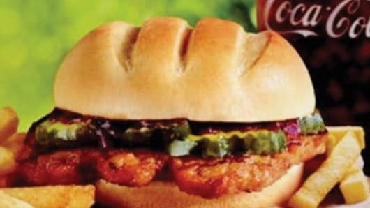 Burger King's new rib sandwich will compete with McDonald's McRib.