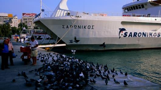 Port of Piraeus, Athens, Greece