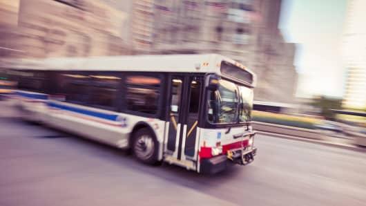Public transit bus