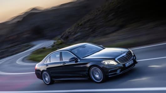 Mercedes-Benz new S-Class Series.