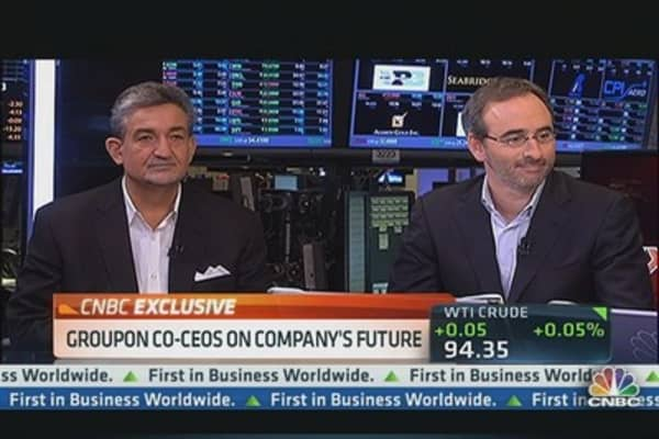 Groupon CEOs: A $100 Billion Company?