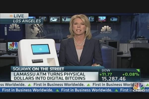 An ATM For Bitcoins?