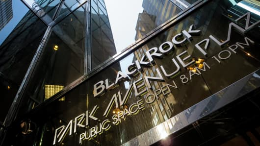 BlackRock headquarters in New York City.
