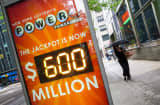 The highest Powerball Lottery's jackpot reaches $600 million.