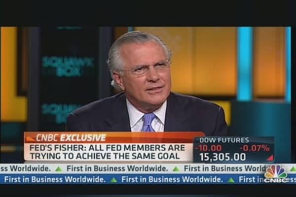 Fed's Fisher: Dodd Frank Law 'Horribly Complex'