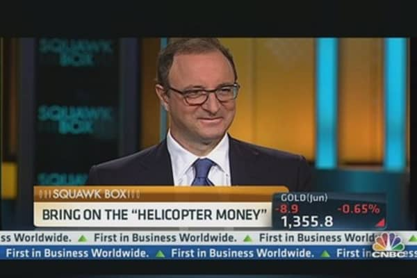 Bring on the 'Helicopter Money'