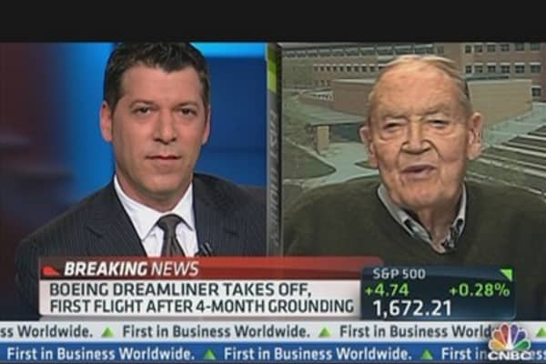 Vanguard's Bogle on Rally: 'Enjoy It'