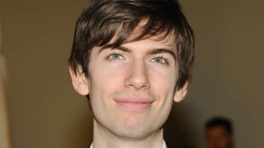 David Karp, founder and CEO of Tumblr.