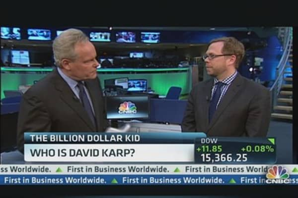 Who is David Karp?