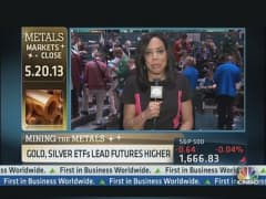 Metals Reverse Course Into the Close
