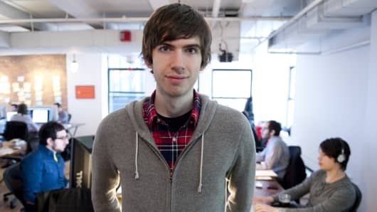 Tumblr-founder David Karp