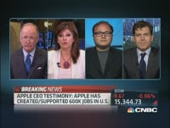 Apple's Cook Expected to Pitch Tax Law