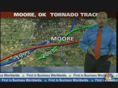 Tracking the Moore Tornado