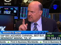 Cramer: Lagging Dow Stock Could 'Break Out'