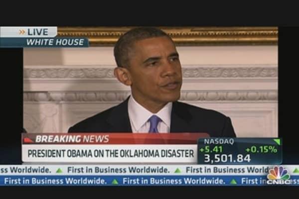 Pres. Obama on Oklahoma Disaster