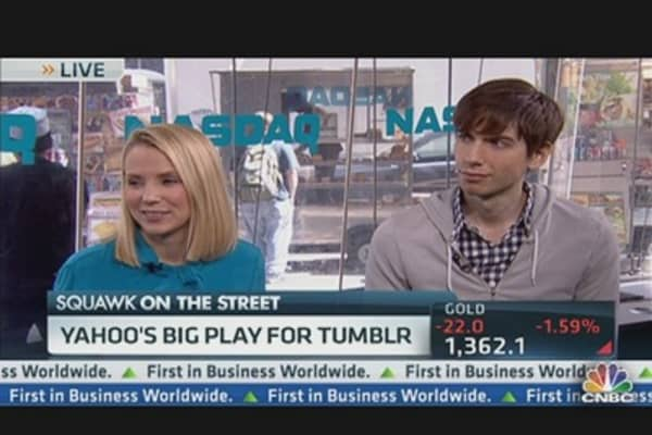 Yahoo, Tumblr CEOs Speak Out on Deal