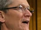 Apple CEO Tim Cook is sworn in before testifying to the Senate Homeland Security and Governmental Affairs Committee's Investigations Subcommittee about the company's offshore profit shifting and tax avoidance in the Dirksen Senate Office Building on Capitol Hill.