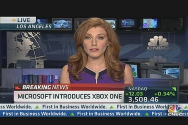 Microsoft Introduces Xbox One