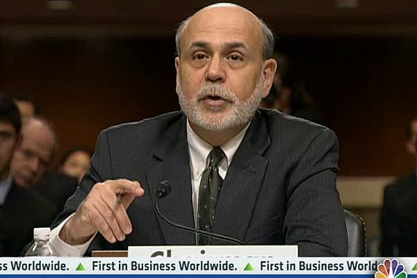 Fed Chairman Bernanke Opening Statement