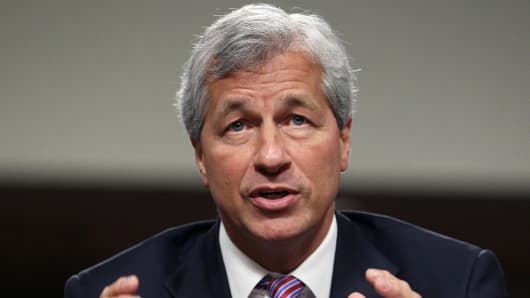 Jamie Dimon, CEO of JPMorgan Chase & Co.