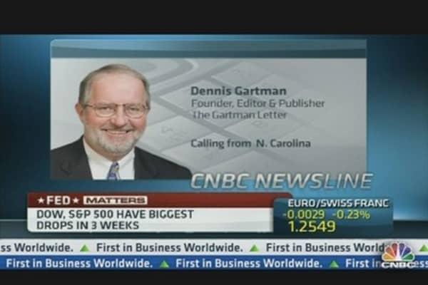 Bernanke Confused Everybody: Dennis Gartman