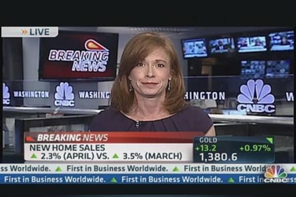 April New Home Sales Rise 2.3 Percent