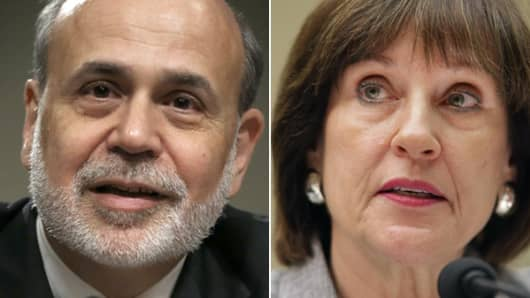 Federal Reserve Chairman, Ben Bernanke and IRS Director of Exempt